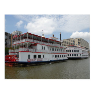 Riverboats Postcard