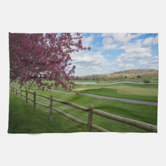 Rivercut In Spring Kitchen Towels