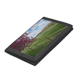 Rivercut In Spring Tri-fold Wallet