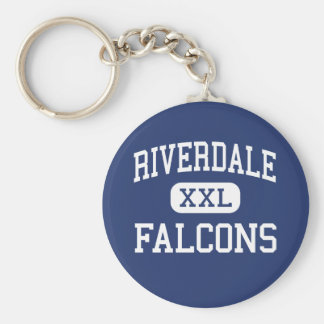 Riverdale - Falcons - Elementary - Forest Ohio Basic Round Button Key Ring