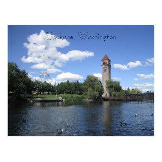 Riverfront Park Postcard