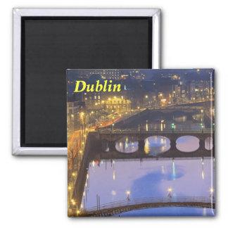 RiverLiffey Dublin Magnet