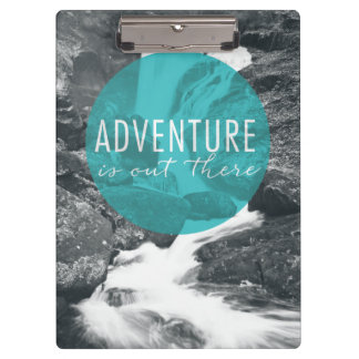 Rivers | Adventure Is Out There Quote Clipboard