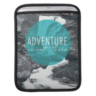 Rivers | Adventure Is Out There Quote iPad Sleeve