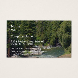 Rivers Streams Trees Forests Business Card