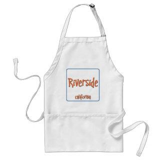 Riverside California BlueBox Adult Apron