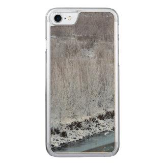 Riverside Frozen Carved iPhone 8/7 Case