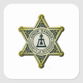 Riverside Junior Ranger Square Sticker