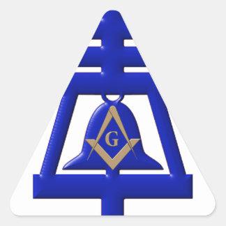Riverside Mason Triangle Sticker