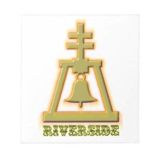Riverside Raincross Notepad