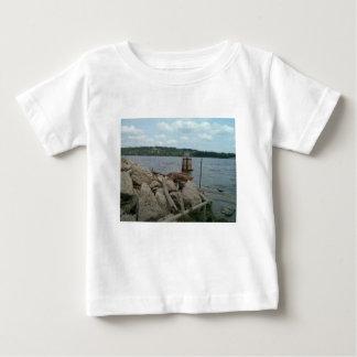 Riverwalk Dubuque Iowa Mississippi River Baby T-Shirt