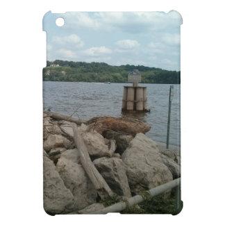 Riverwalk Dubuque Iowa Mississippi River iPad Mini Case