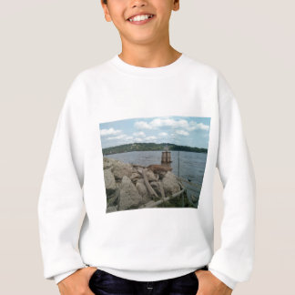 Riverwalk Dubuque Iowa Mississippi River Sweatshirt