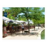 Riverwalk Pueblo Colorado Postcard - Cooper Beagle