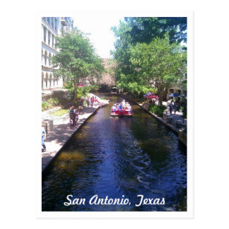 Riverwalk, San Antonio Postcard