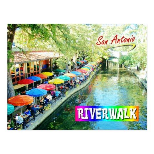 Riverwalk, San Antonio, Texas Postcard