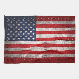 Riveting Old Glory Kitchen Towel