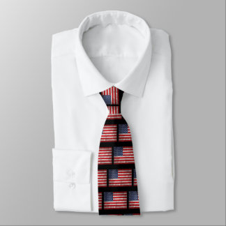 Riveting Old Glory Tie
