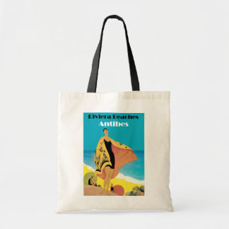 Riviera Beaches ~ Antibes Tote Bag
