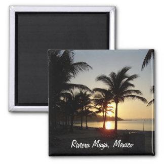 Riviera Maya Cancun Mexico Caribbean Sea Magnet