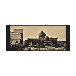 Riyadh Neighborhood Canvas Print