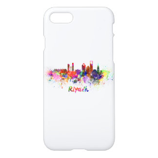 Riyadh skyline in watercolor iPhone 8/7 case