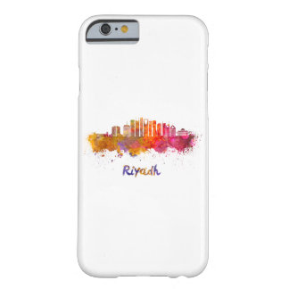 Riyadh V2 skyline in watercolor Barely There iPhone 6 Case