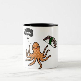 Riyah-Li Designs Octopus Mommy Two-Tone Mug