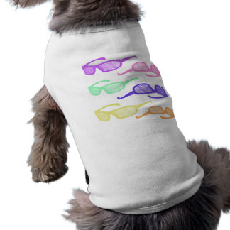 Riyah-Li Designs Sunglasses Sleeveless Dog Shirt