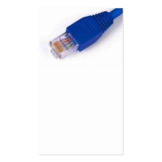 rj45 - computer network connector business card templates