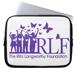 RLF Logo Neoprene Laptop Sleeve 10 inch