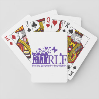 RLF Logo Playing Cards, Standard Index faces Playing Cards