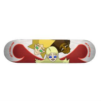 rm -r comic skateboard