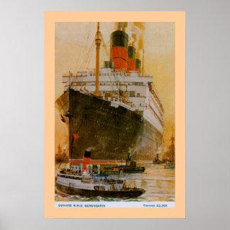 RMS Berengaria Posters