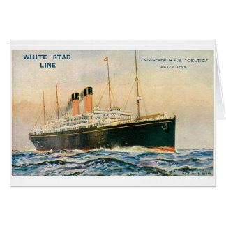 RMS Celtic Greeting Card