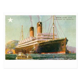 RMS Laurentic Postcard