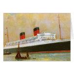 RMS Mauretainia Greeting Card