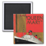 RMS Queen Mary Square Magnet