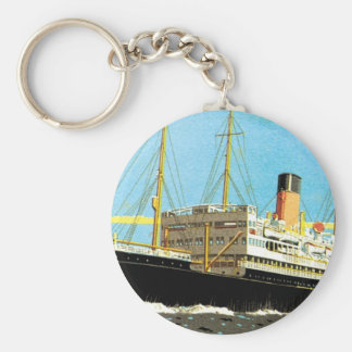 RMS Staffordshire Basic Round Button Key Ring
