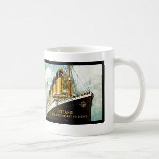 RMS Titanic 100th Anniversary Basic White Mug