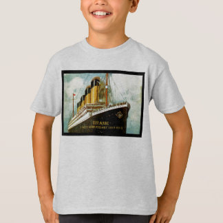 RMS Titanic 100th Anniversary kid's T T-Shirt