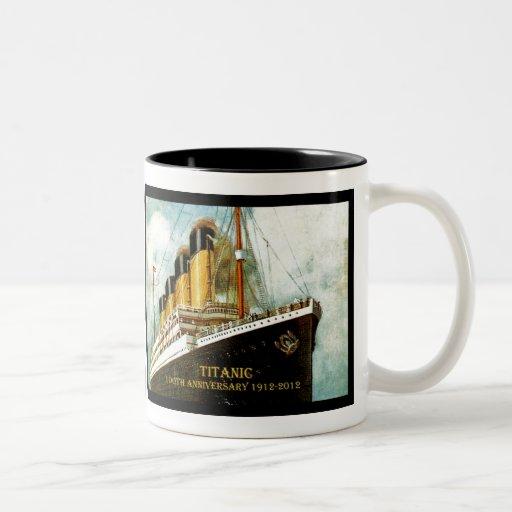 RMS Titanic 100th Anniversary Mug