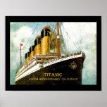 RMS Titanic 100th Anniversary Print