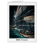 RMS Titanic Launching of the Lifeboats Vintage