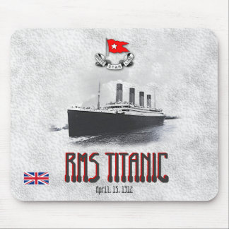 RMS Titanic Mouse Pad