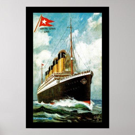 RMS Titanic Print