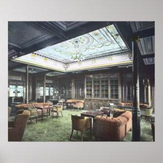 RMS Titanic Pure Luxury Awaits Her Passengers Poster