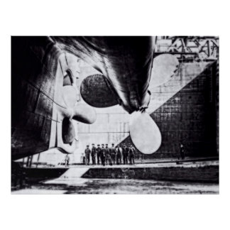 RMS Titanic:  Ready to Lauch Poster