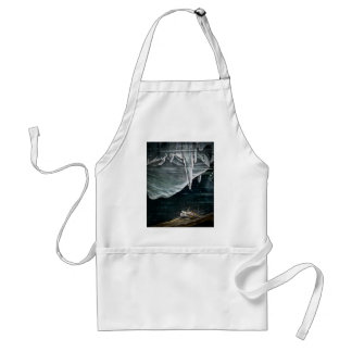 RMS Titanic Under the Sea and Icebergs Vintage Standard Apron