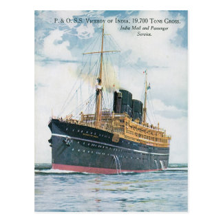 RMS Viceroy of India Postcard